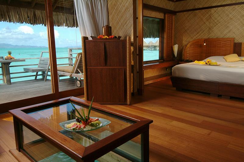 Sparkling Voyages Intercontinental Bora Bora Resort Le Moana
