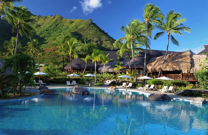 Sparkling voyages hilton moorea lagoon resort spa for Garden pool suite hilton moorea