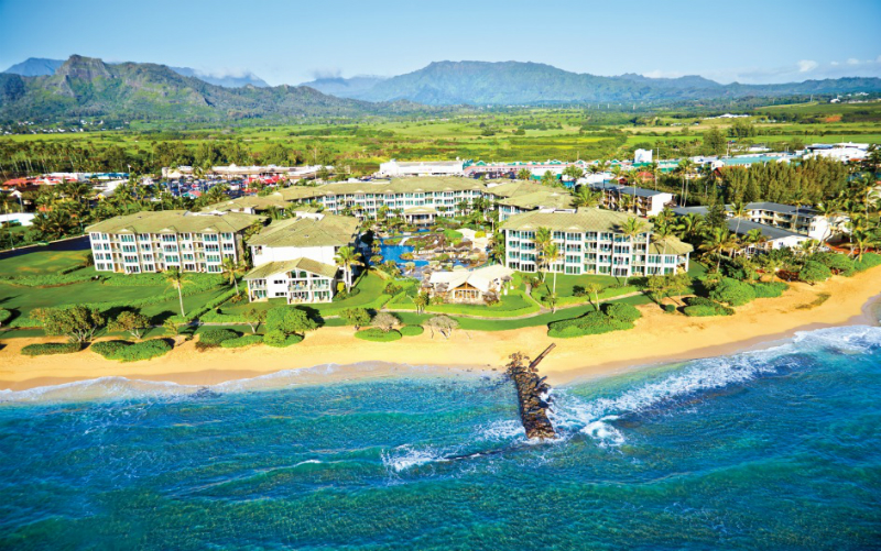 Sparkling Voyages Outrigger Waipouli Beach Resort Amp Spa