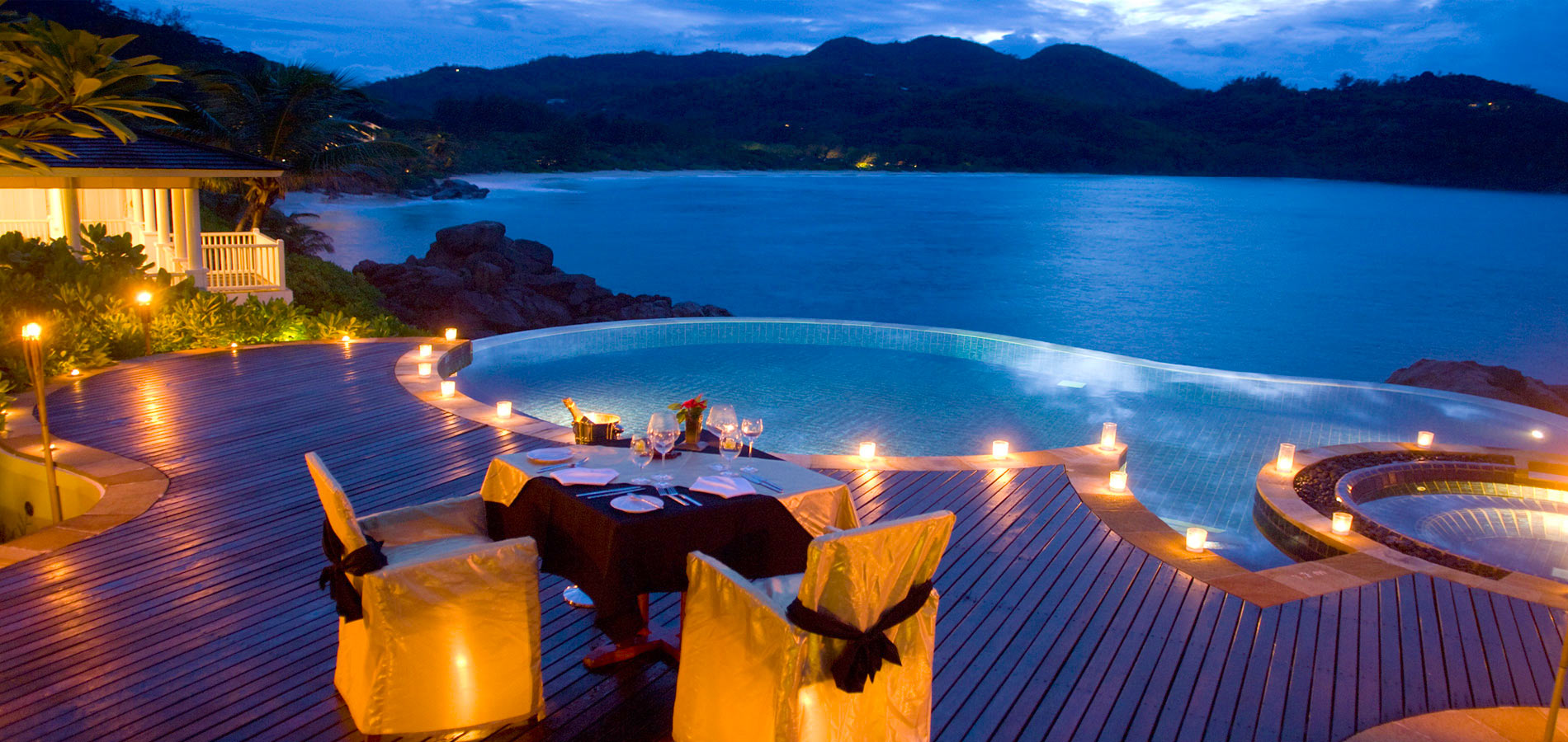 Sparkling voyages maia luxury resort and spa for World luxury hotels resorts